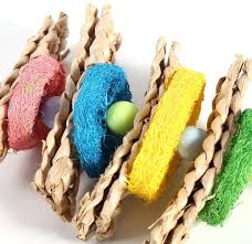 Cages & Accessories Yosoo Chewing Pecking <b>Toys</b> with Bell for ...