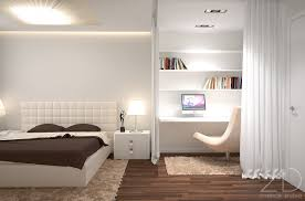 bedroom interior design modern lighting cream