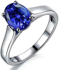 (1.37ct) Genuine Natural Blue Tanzanite Gemstone ... - Amazon.com