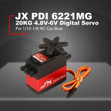 <b>JX PDI 6221MG</b> 20KG 4.8V 6V Large Torque 360 Degree Digital ...