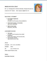 engineers resume format freshers resume format images the ms word Dayjob