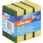 Купить <b>Губка VILEDA Tip-Top</b> (Тип-Топ) классическая, для посуды ...