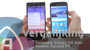 Samsung Galaxy S5 mini vs Huawei Ascend P7 review (Dutch ...