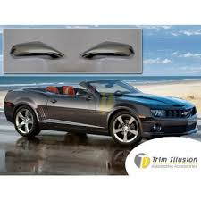 <b>Хромированные накладки на зеркала</b> Chevrolet Camaro