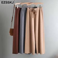 <b>2019</b> autumn winter new THICK casual <b>straight pants</b> women female ...