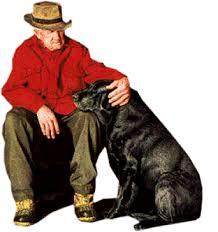 Résultats de recherche d'images pour «Un homme et son chien»
