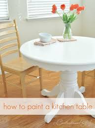 how to paint a kitchen table cg centsational girl painting furniture