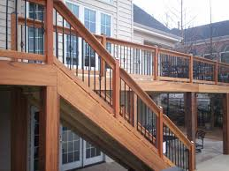 patio steps pea size x: deck stairs with landing porch design ideas image of michigan