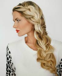 Long Hairstyles With Braids Double Fishtail Braids For Long Hair