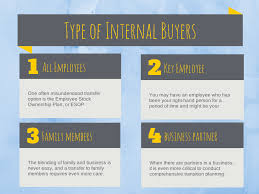 the 4 types of buyers for internal business transitions