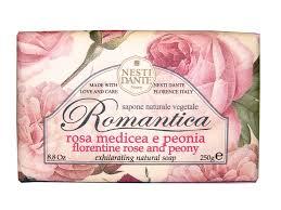 <b>NESTI DANTE</b> Мыло <b>романтика</b> Роза и пион 250 г купить в ...