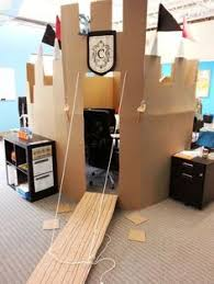 now this is a cardboard castle apparently they want to protect the home office from cardboard office