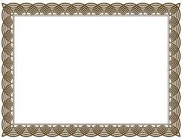 doc 18401250 certificate border template certificate certificate border templates for word template certificate border template