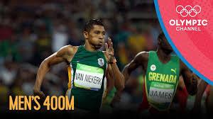 Rio Replay: <b>Men's</b> 400m Sprint Final - YouTube