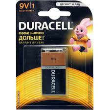 Батарейка 9V Duracell 6LR61-MN1604 1 шт. — купить, цена и ...