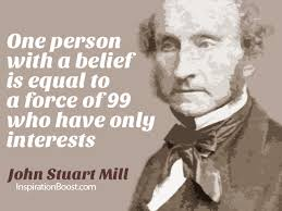 Inspirational Quote of the Day: One by John Stuart Mill | saboteur365 via Relatably.com
