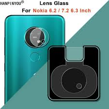 """For Nokia 7.2 6.2 6.3"""" Clear Ultra Slim <b>Back Camera Lens</b> Protector ..."""