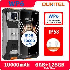 <b>OUKITEL WP6</b> IP68 Waterproof Phone 6.3 inch 6GB RAM 128GB ...