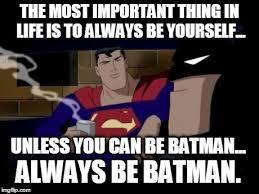 Batman And Superman Memes - Imgflip via Relatably.com