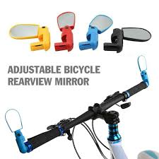 <b>1pc Bicycle</b> Rear View <b>Mirror</b> Road <b>Bike Handlebar Mirror</b> For ...