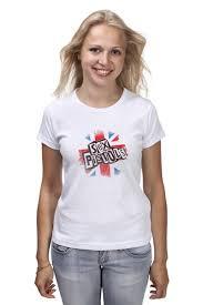 <b>Футболка классическая Sex</b> Pistols #791023 – заказать женские ...
