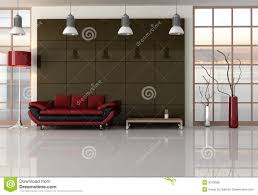 black red living room contemporary living room at sunset renderingthe image on background cherner side chair csc05