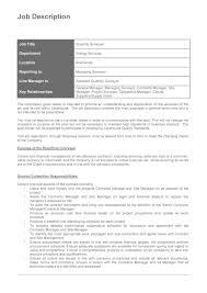 job description templates examples template lab job description template 13
