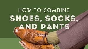 How To Combine <b>Men's Socks</b>, <b>Shoes</b> & Pants - Compliments ...