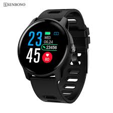 SENBONO S08 <b>Men</b> Sport Pedometer <b>Smart Watch</b> IP68 Waterproof ...