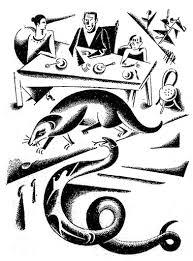 rikki tikki tavi by rudyard kiplingan illustration for the story rikki tikki tavi by the author rudyard kipling