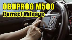 Adjust odometer mileage via <b>OBDPROG M500</b> in Chevrolet - YouTube