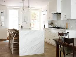 calacatta marble kitchen waterfall: calacatta gold calacatta gold calacatta gold