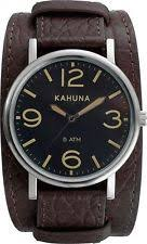 mens kahuna watch kahuna cuff watch and bracelet set mens from the official argos shop on