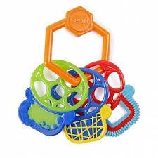 <b>Прорезыватель</b> для зубок разноцветные ключики Oball ...