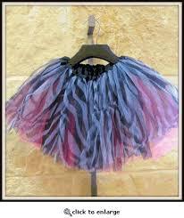 <b>Little girl's tutu</b>. black zebra stripes over hot <b>pink tulle</b> | Kids Clothing ...
