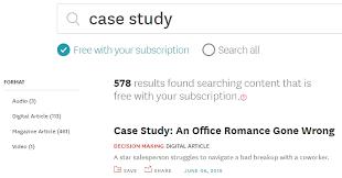 Harvard business review case studies solutions