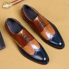 <b>QYFCIOUFU Luxury</b> Formal Men Dress Shoes Genuine Leather ...