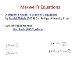 Maxwell     s Equations Maxwell Summarizes all of Physics using Fields     SlidePlayer Maxwell     s Equations A Student     s Guide To Maxwell     s Equations A Student     s Guide To Maxwell     s Equations by Daniel