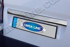 Стальная <b>накладка на крышку</b> багажника над номером Omsa ...