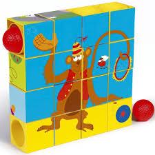 <b>Деревянная игрушка Scratch Пазл-трек</b> Цирк - Акушерство.Ru