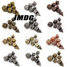 <b>1pcs</b> D6 Polyhedron RPG Dice <b>6</b> sides Accessories <b>Metal</b> Dice DND ...