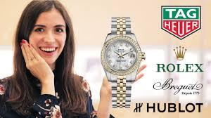 Как произносить названия самых дорогих <b>часов</b>: Rolex, Hublot ...