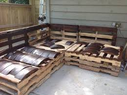 pallet outdoor furniture build pallet furniture