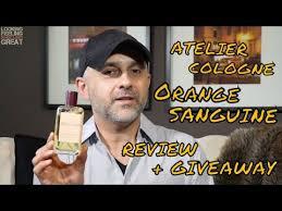 <b>Atelier Cologne Orange Sanguine</b> Review + 3-30ml Bottle Giveaway ...