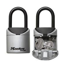<b>Master Lock 5406D Key</b> Lock Box Padlock 3 Digit Combination ...