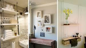 5 Cheap <b>DIY Hanging</b> Shelving <b>Ideas</b> for Small Bedroom - YouTube