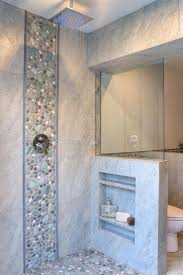 plastic wall tile pittsburgh  ideas about pebble shower floor on pinterest river rock shower master