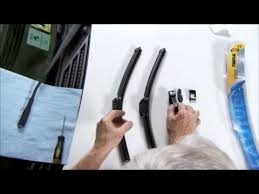Changing windshield wipers with an adaptor - YouTube