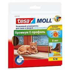 <b>Уплотнитель</b> TESA <b>Е</b>-<b>профиль резиновый</b> коричневый купить по ...