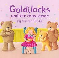 Resultado de imagen para goldilocks and the three bears